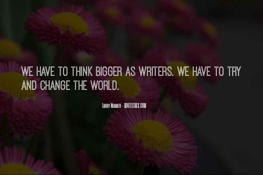 Change The Thinking Quotes #74509