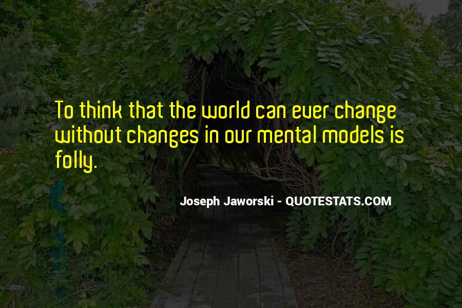 Change The Thinking Quotes #83790