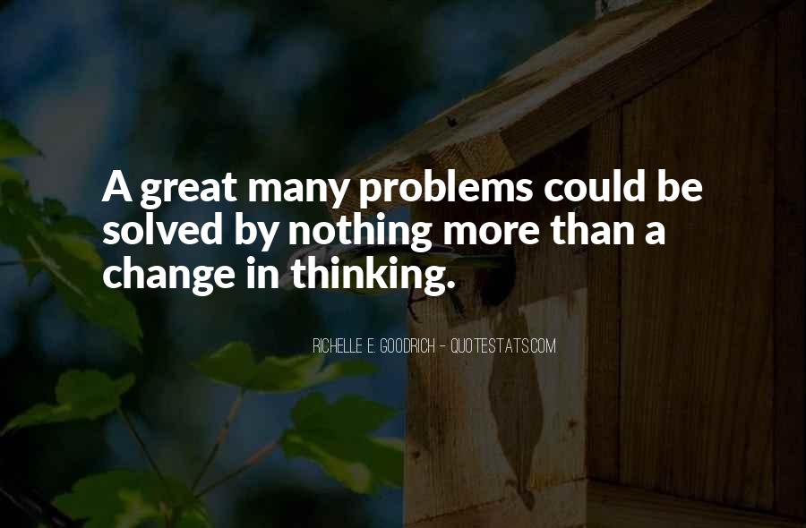 Change The Thinking Quotes #91
