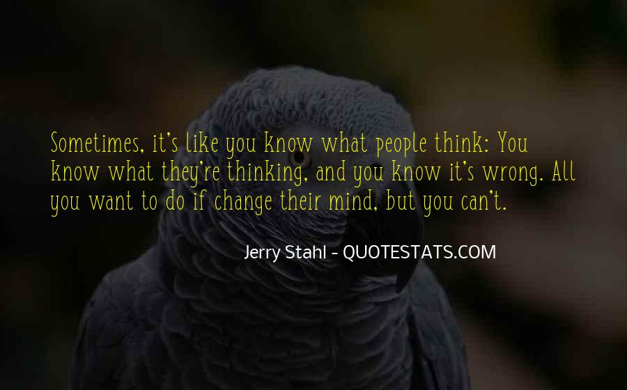 Change The Thinking Quotes #95088