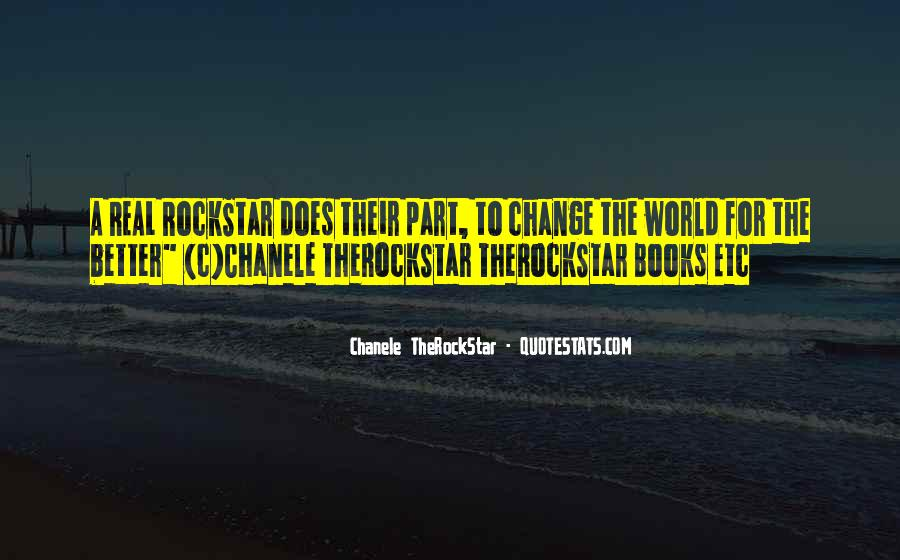 Change The World For The Better Quotes #368263