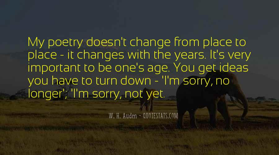 Changes In Him Quotes #22900