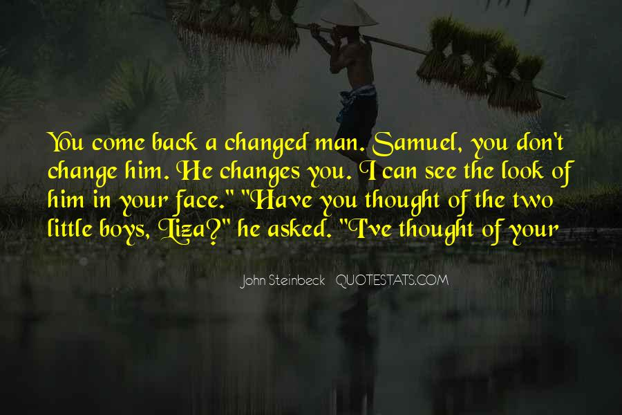 Changes In Him Quotes #850376