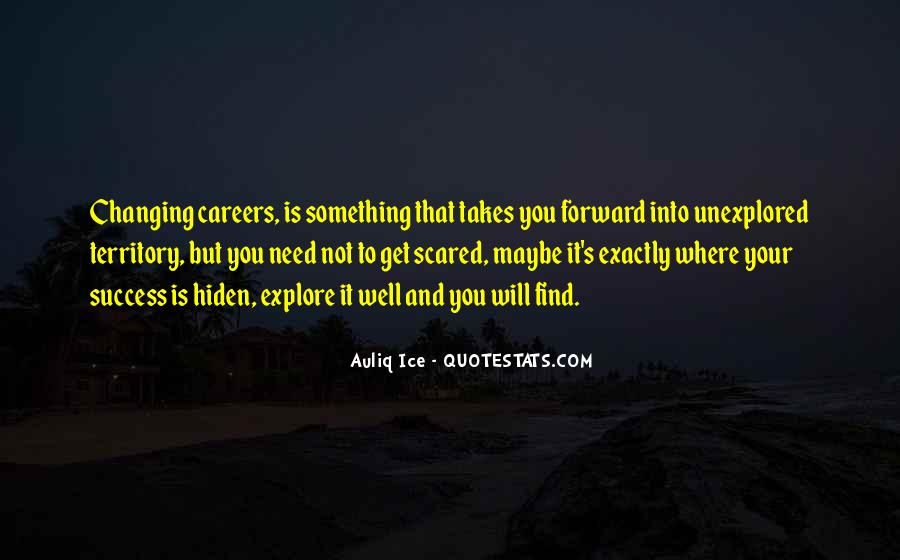 Changing My Career Quotes #1555066
