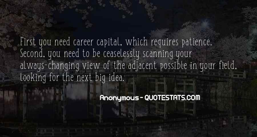 Changing My Career Quotes #1800137