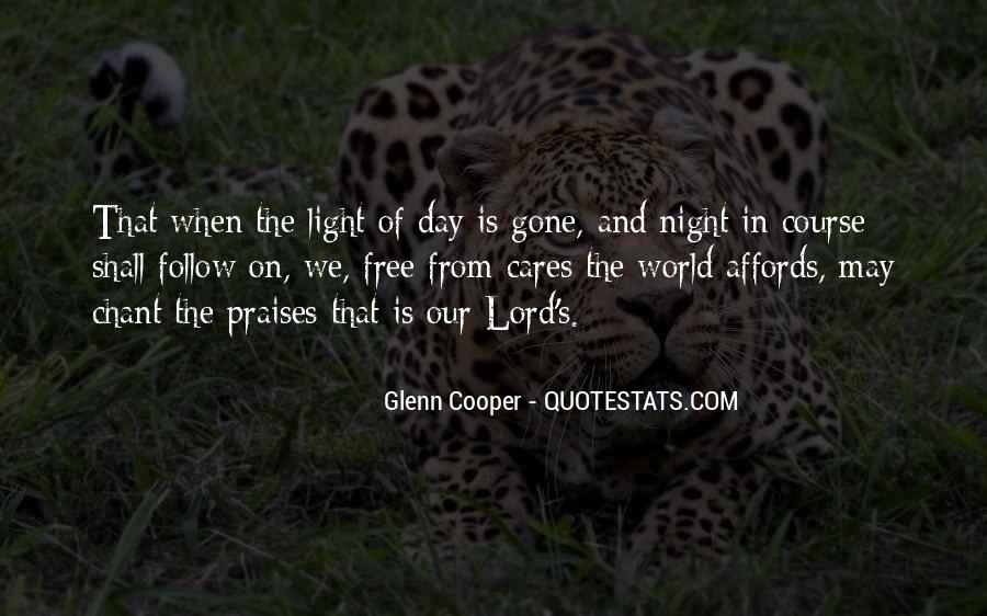Chant Of Light Quotes #702970