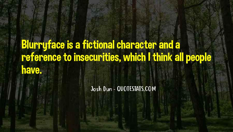 Character Reference Quotes #1107964