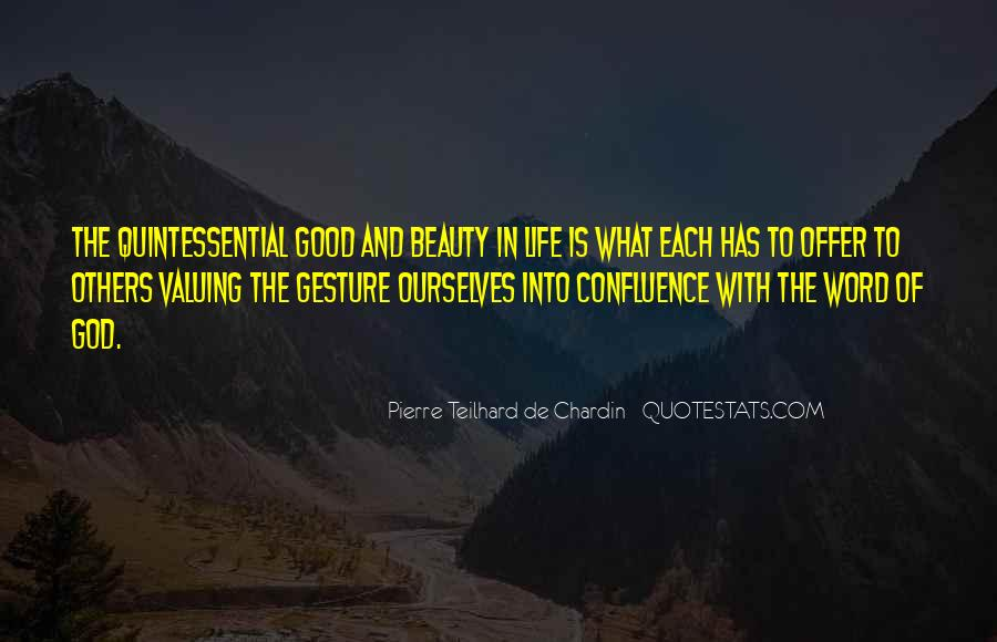 Chardin Quotes #184378