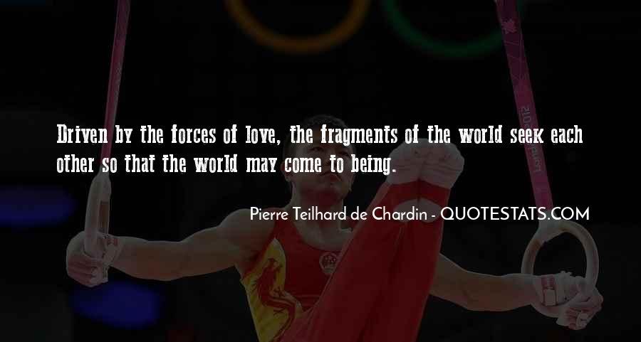 Chardin Quotes #377137