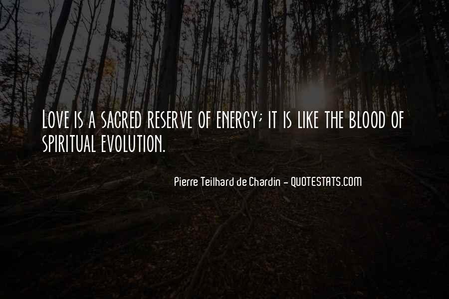 Chardin Quotes #488909