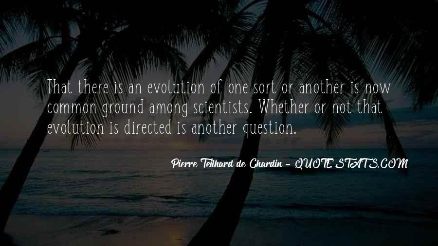 Chardin Quotes #515761