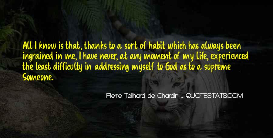 Chardin Quotes #520214