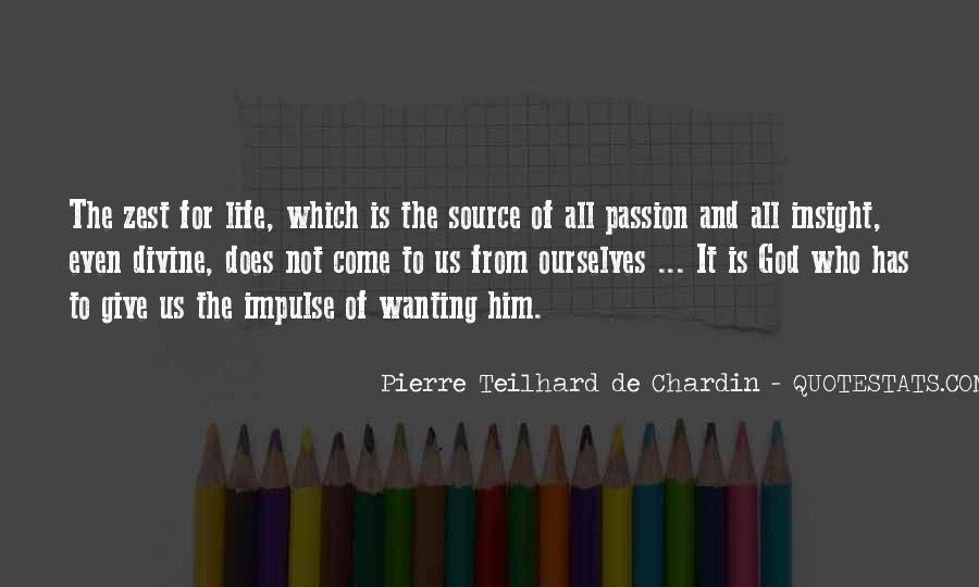 Chardin Quotes #591975