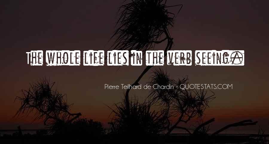 Chardin Quotes #600735