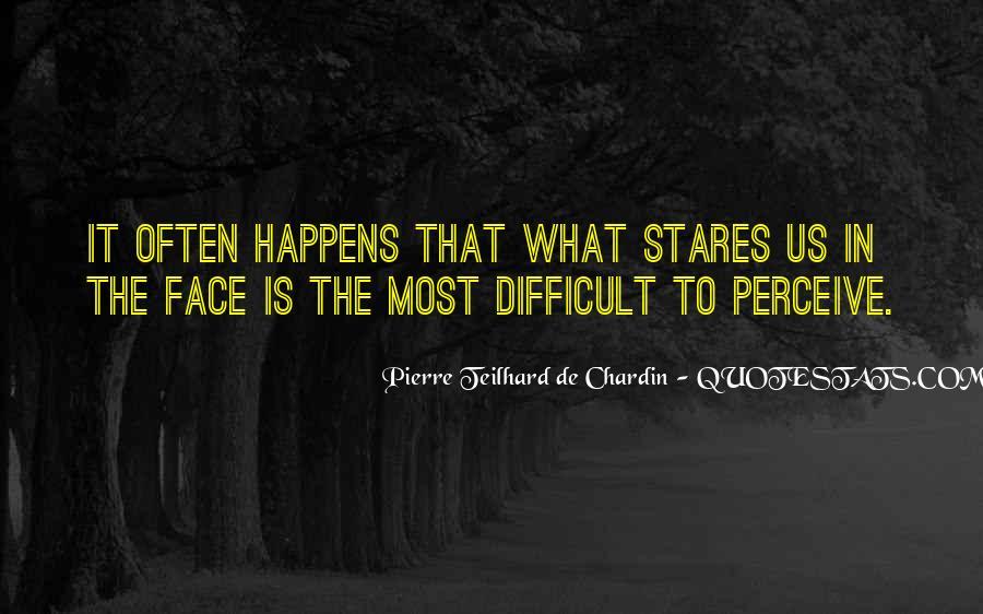 Chardin Quotes #615748