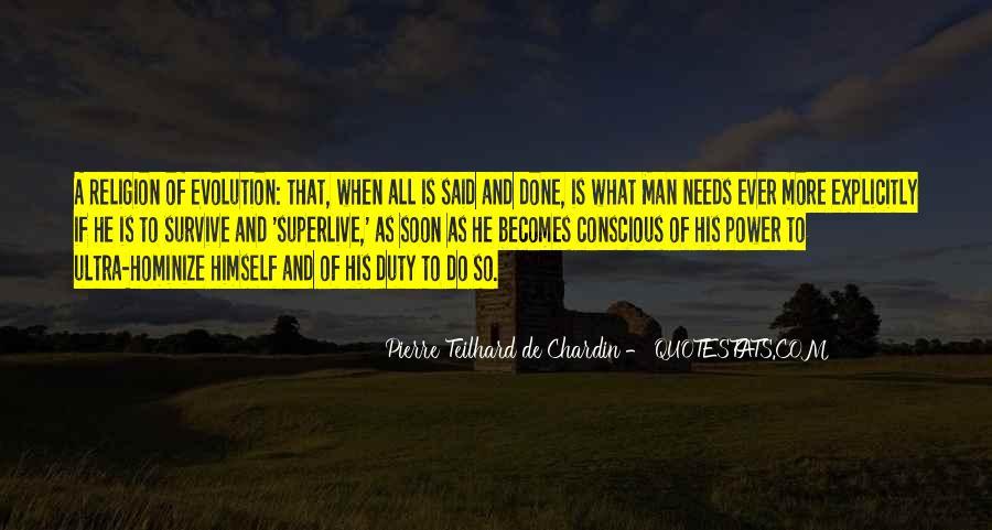 Chardin Quotes #657288