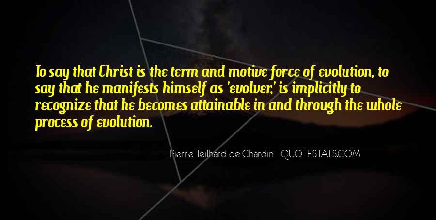 Chardin Quotes #698912