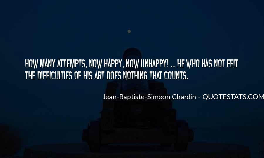 Chardin Quotes #704965