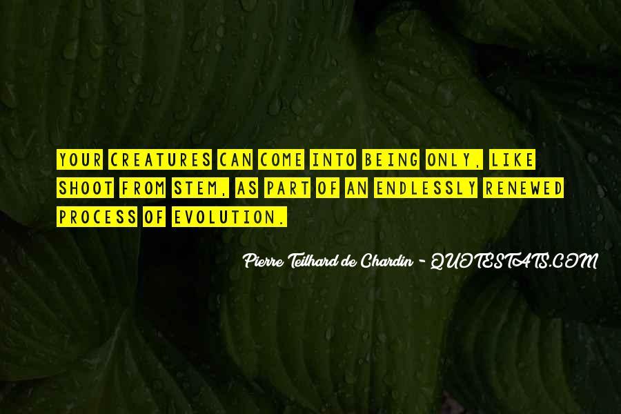 Chardin Quotes #77612