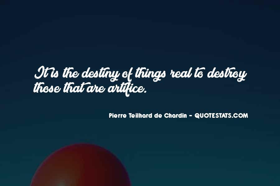 Chardin Quotes #912739