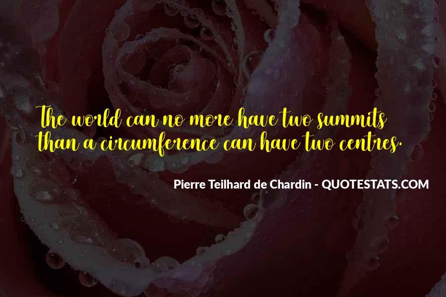 Chardin Quotes #958098