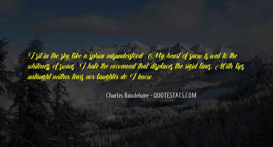 Charles Baudelaire Flowers Of Evil Quotes #794004