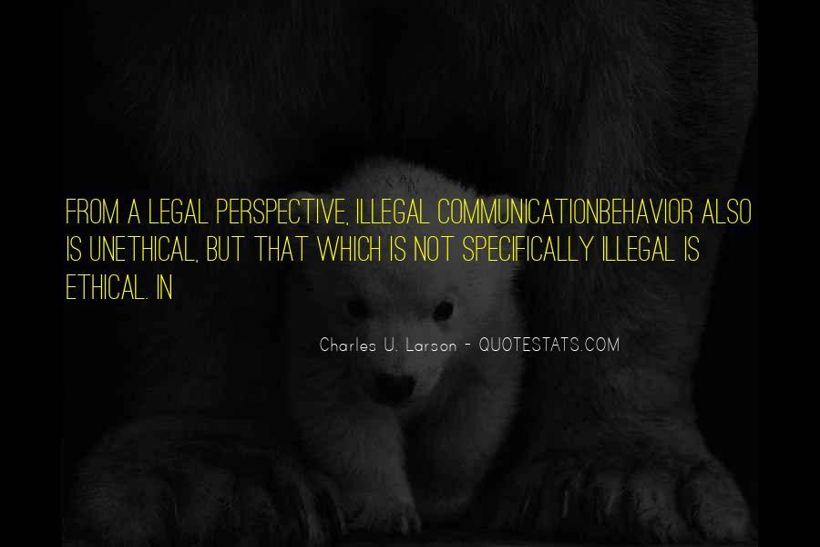 Charles D. Larson Quotes #192811