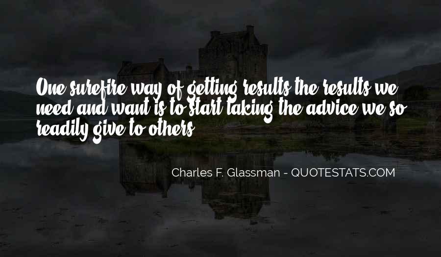 Charles Glassman Quotes #154132