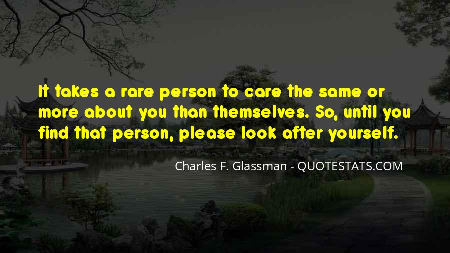 Charles Glassman Quotes #284291