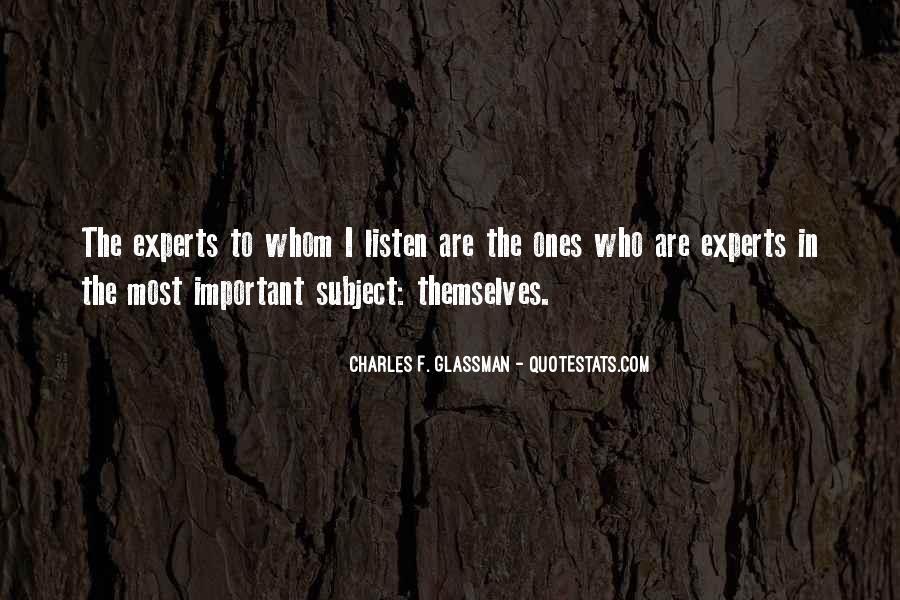 Charles Glassman Quotes #418240