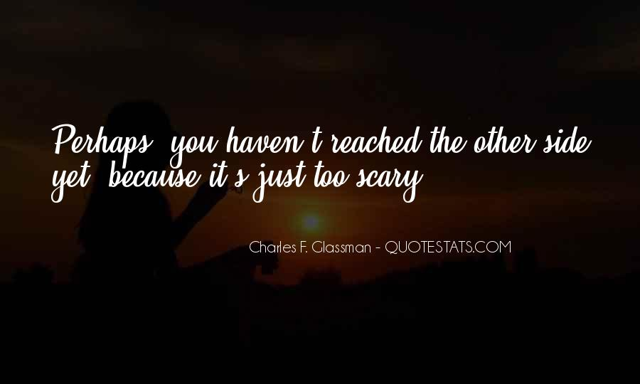 Charles Glassman Quotes #97536