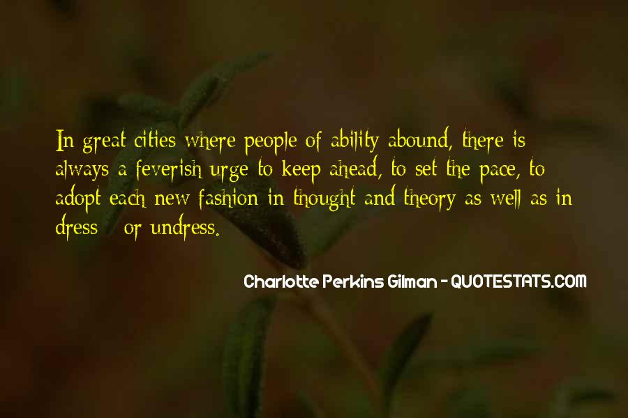 Charlotte Perkins Quotes #221975