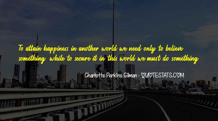 Charlotte Perkins Quotes #224073