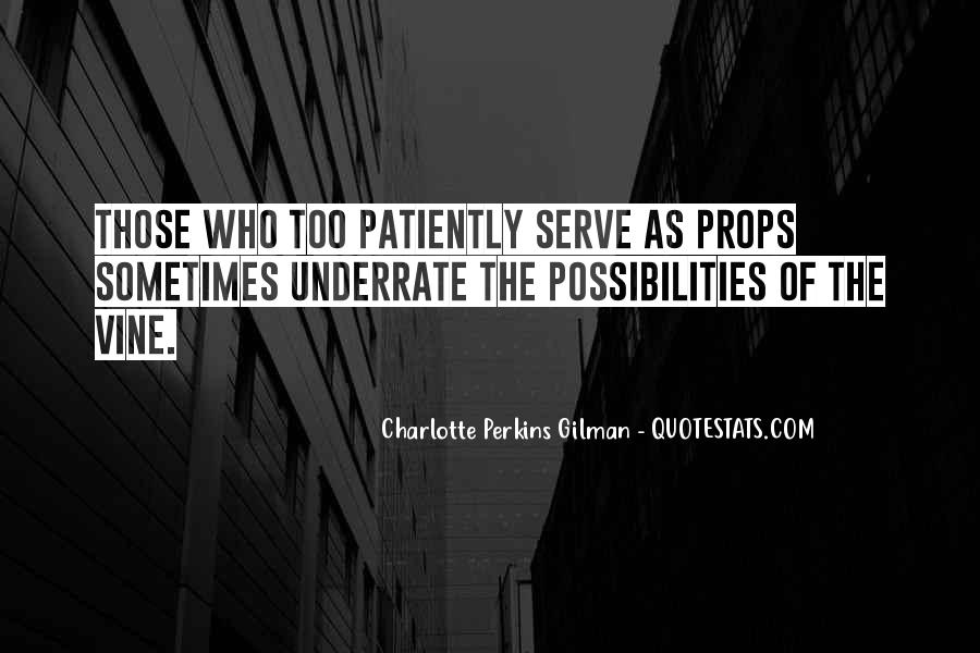 Charlotte Perkins Quotes #366036
