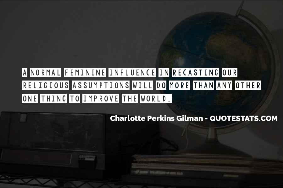 Charlotte Perkins Quotes #539832