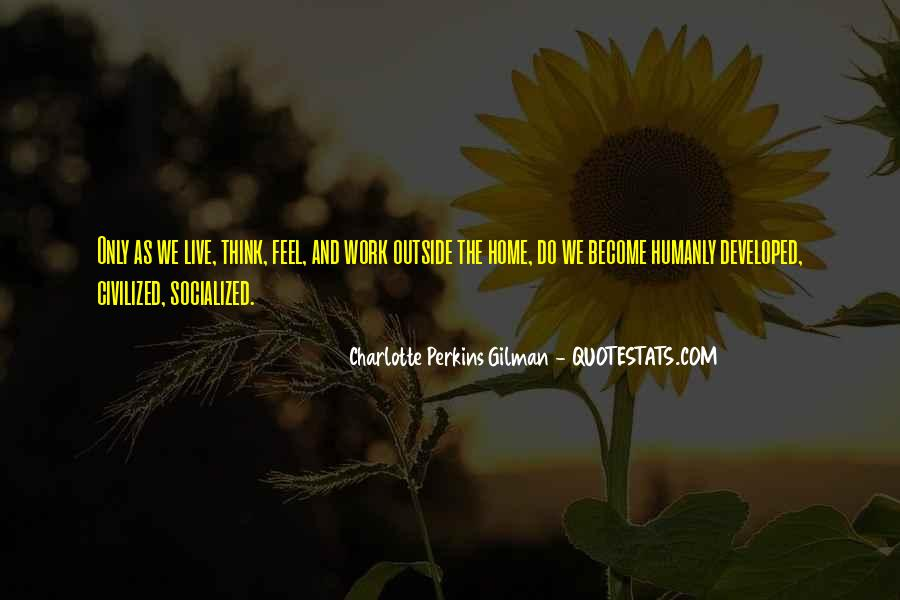 Charlotte Perkins Quotes #738935