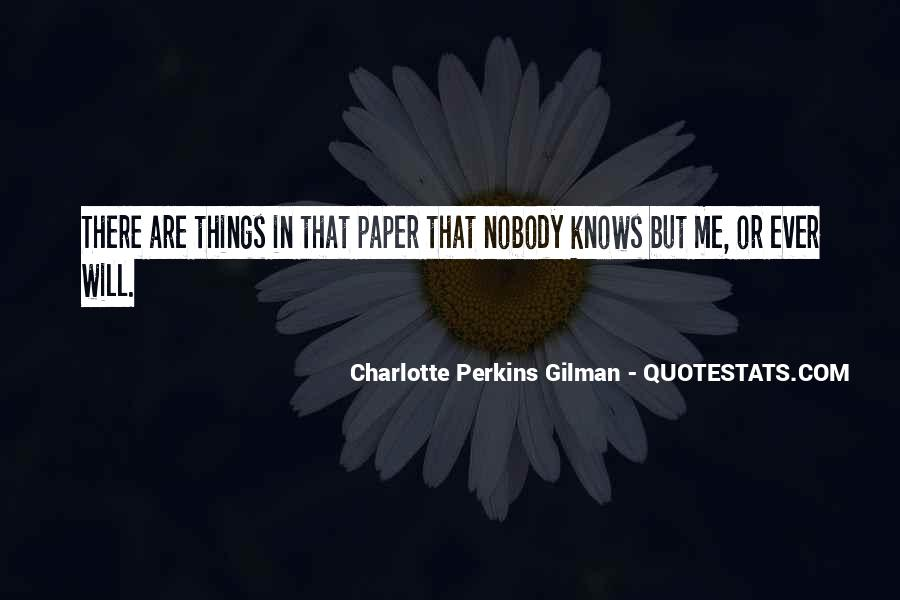 Charlotte Perkins Quotes #838084