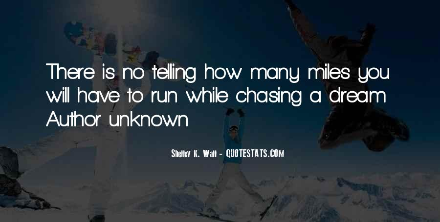 Chasing A Dream Quotes #181670