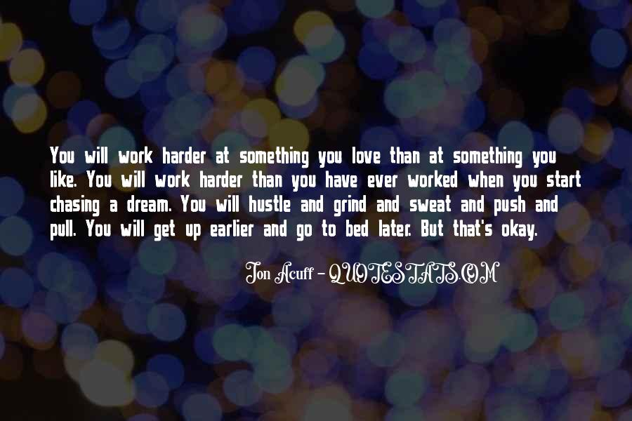 Chasing A Dream Quotes #3428