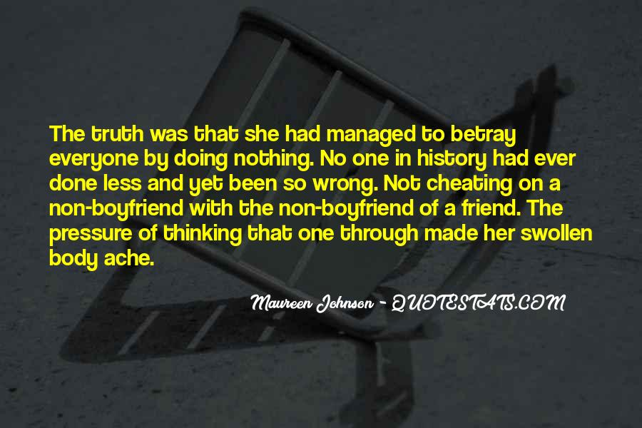 Cheating With Quotes #1260829