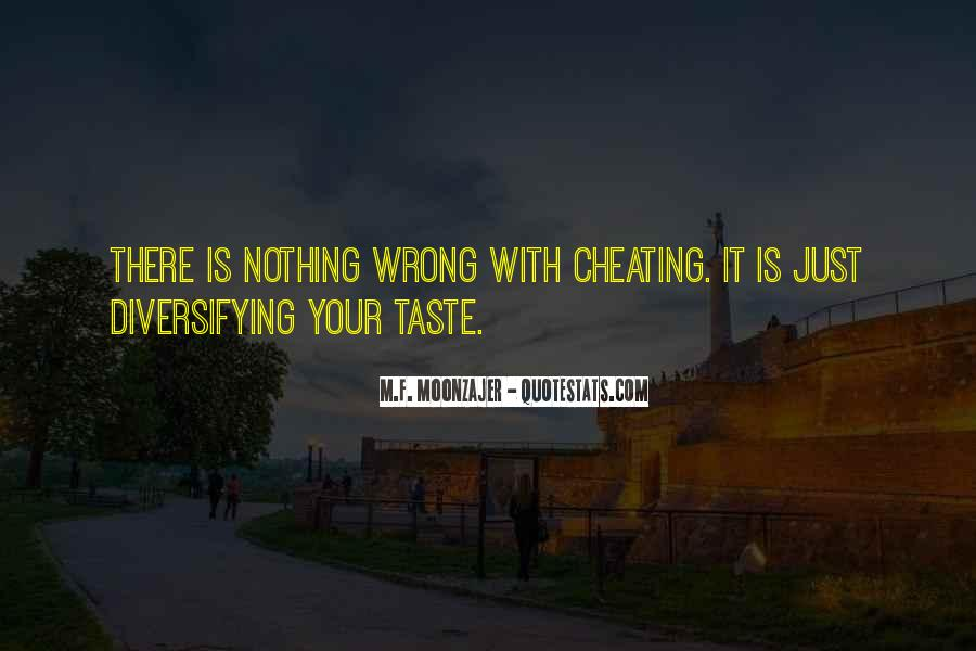 Cheating With Quotes #1754085