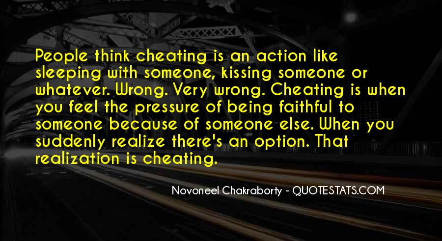 Cheating With Quotes #697227