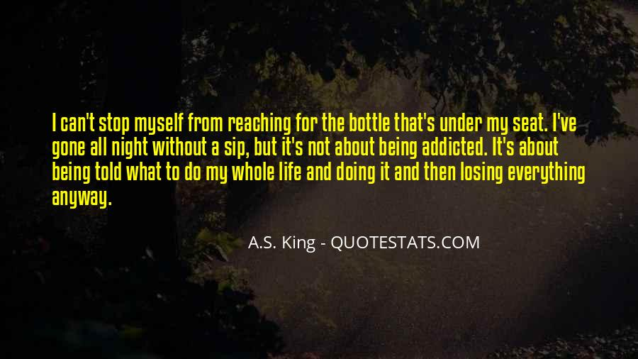 Quotes About Life Not Being All About You #43856