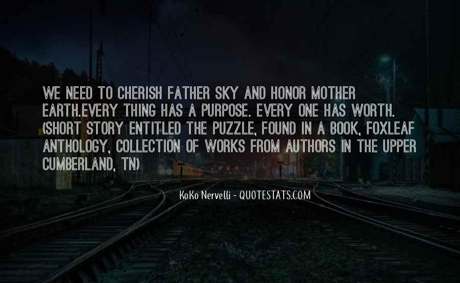 Cherish Your Father Quotes #1440998