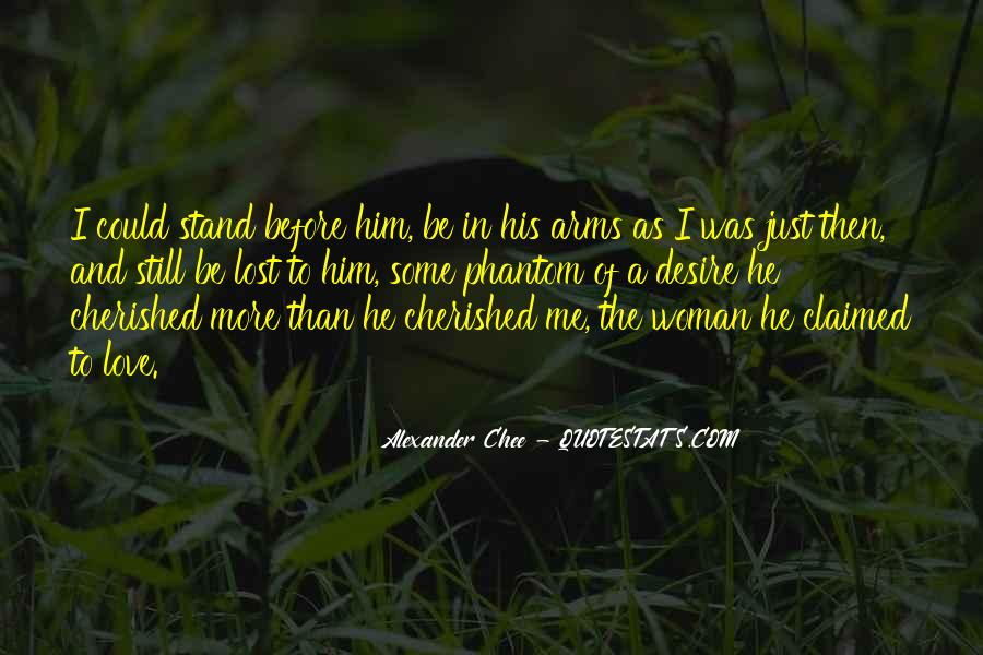 Cherished Woman Quotes #170699