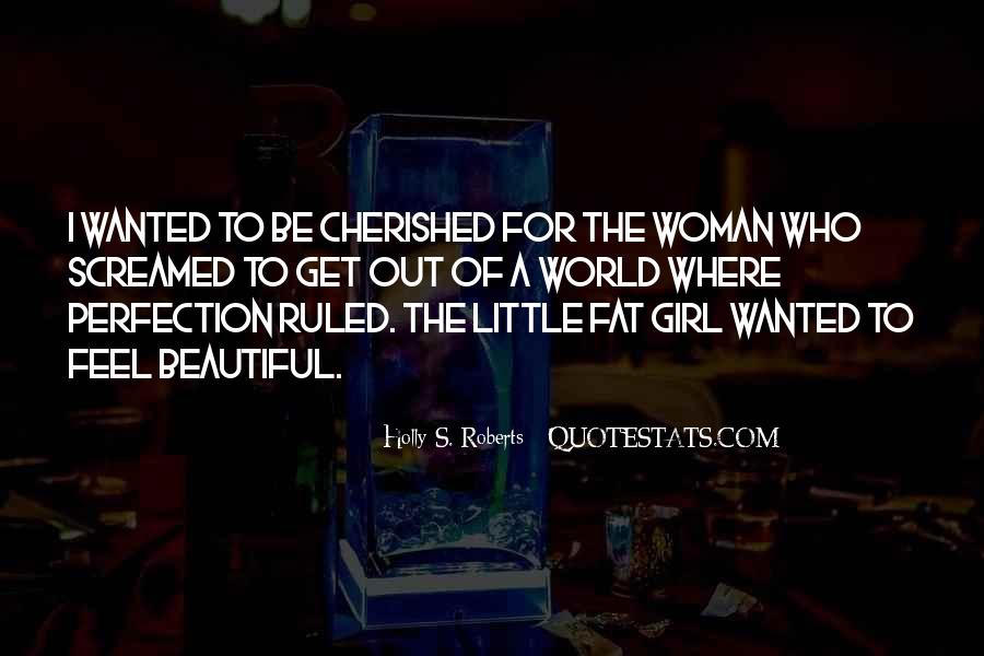 Cherished Woman Quotes #1856464