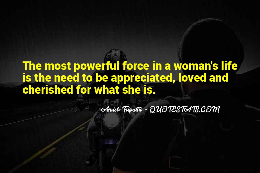 Cherished Woman Quotes #659367