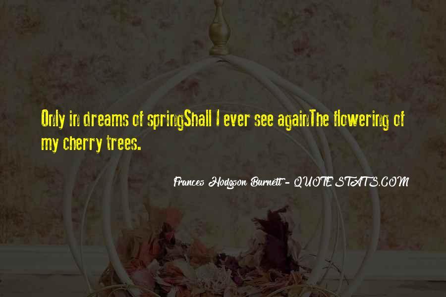 Cherry Tree Quotes #1007928