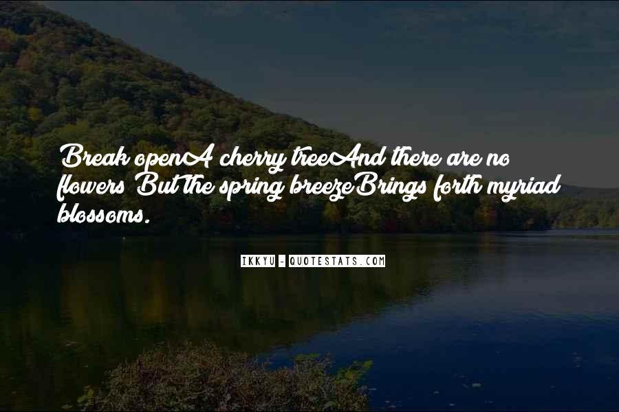 Cherry Tree Quotes #1058103