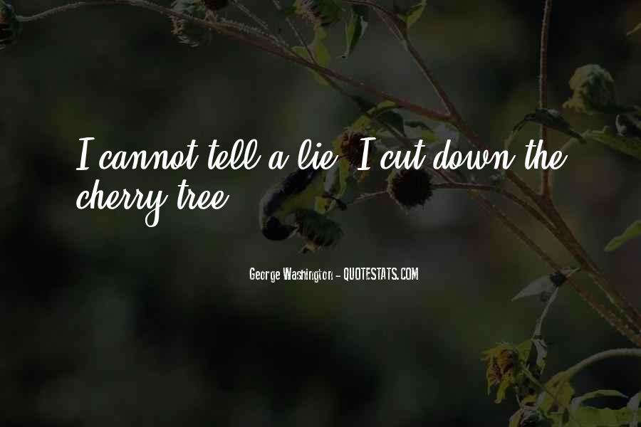 Cherry Tree Quotes #1655557